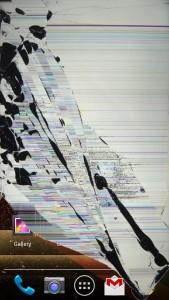 polomljen ekran na tabletu