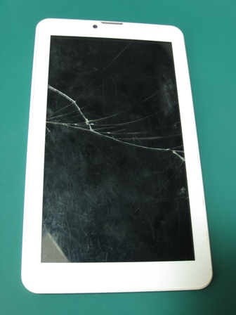 zamena touchscreen ekrana Vivax 702 3G